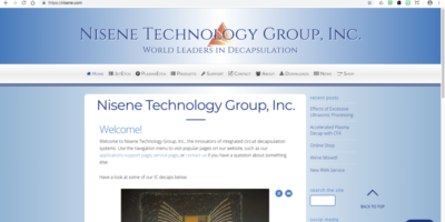 Nisene Technology Group, Inc.